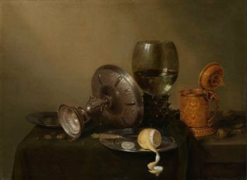 Still life with gilt bierkan. 1634 | Willem Claesz. Heda | oil painting