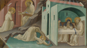 Incidents in the Life of Saint Benedict | Lorenzo Monaco | oil painting