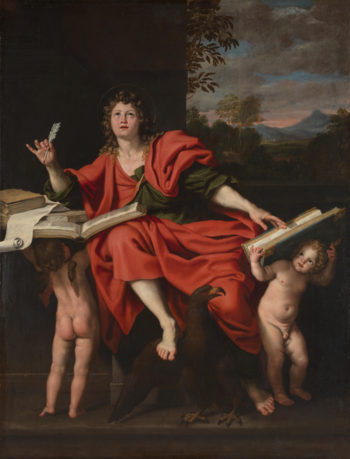Saint John the Evangelist | Domenichino | oil painting