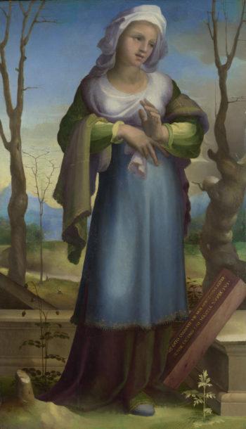 Marcia | Domenico Beccafumi | oil painting