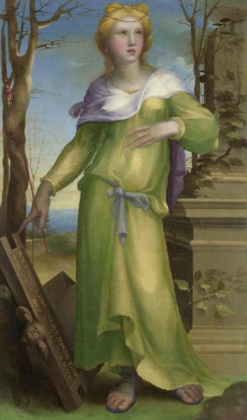 Tanaquil | Domenico Beccafumi | oil painting