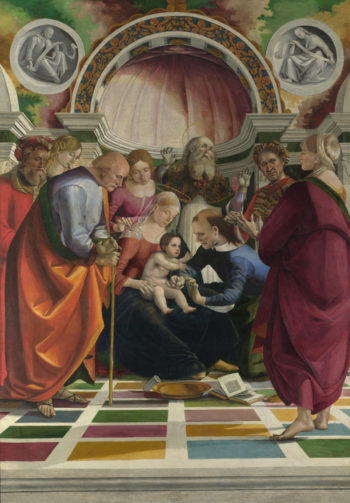 The Circumcision | Luca Signorelli | oil painting