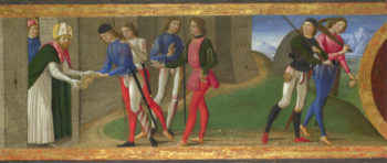 A Legend of Saints Justus and Clement of Volterra | Domenico Ghirlandaio | oil painting