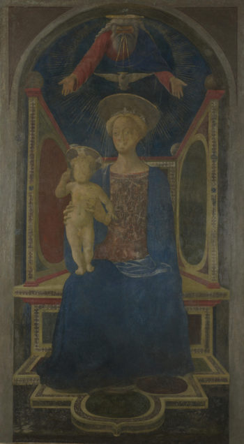 The Virgin and Child Enthroned | Domenico Veneziano | oil painting