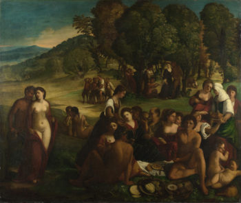 A Bacchanal | Dosso Dossi | oil painting