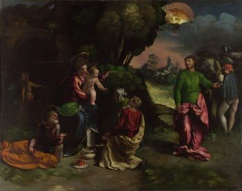 The Adoration of the Kings | Dosso Dossi | oil painting
