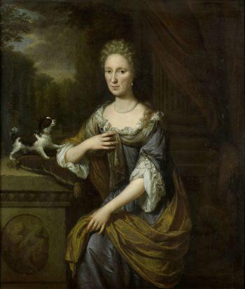 Portrait of a woman. 1691   Jan Verkolje (I)   oil painting