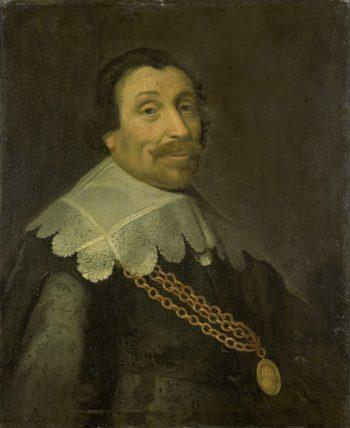 Portrait of Harpertsz Maerten Tromp (1597-1653). after 1640 | Michiel Jansz. van Mierevelt | oil painting