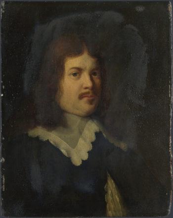 Portrait of a Man   Dutch   oil painting