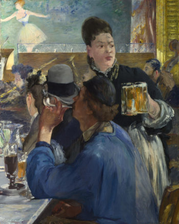Corner of a Cafe Concert | Edouard Manet | oil painting