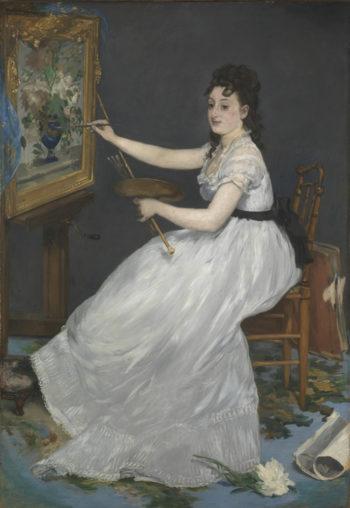 Eva Gonzalas | Edouard Manet | oil painting