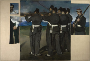 The Execution of Maximilian   Edouard Manet   oil painting