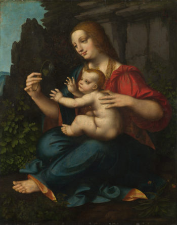 The Virgin and Child | Marco d'Oggiono | oil painting