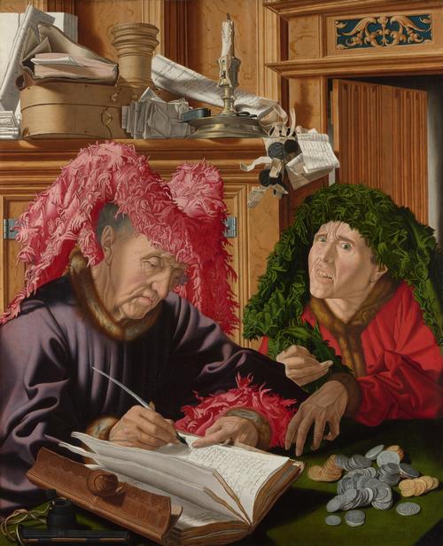 Two Tax Gatherers | Marinus van Reymerswaele | oil painting