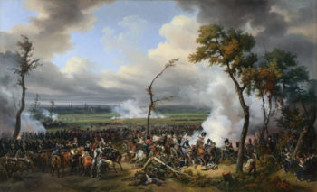 The Battle of Hanau | Emile-Jean-Horace Vernet | oil painting