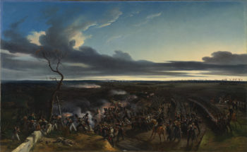 The Battle of Montmirail | Emile-Jean-Horace Vernet | oil painting