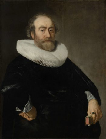 Portrait of Andries Bicker. 1642 | Bartholomeus van der Helst | oil painting