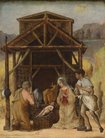 The Adoration of the Shepherds | Ercole de' Roberti | oil painting