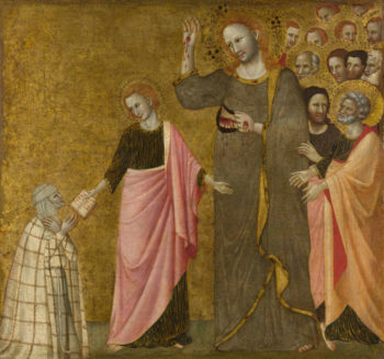 Vision of the Blessed Clare of Rimini | Master of the Blessed Clare | oil painting