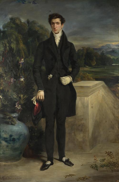Louis-Auguste Schwiter | Eugene Delacroix | oil painting