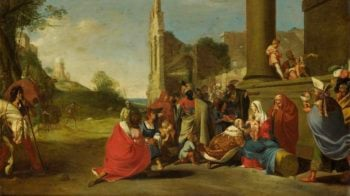 The Adoration of the Magi. ca. 1640 - ca. 1650 | Bartholomeus Breenbergh | oil painting