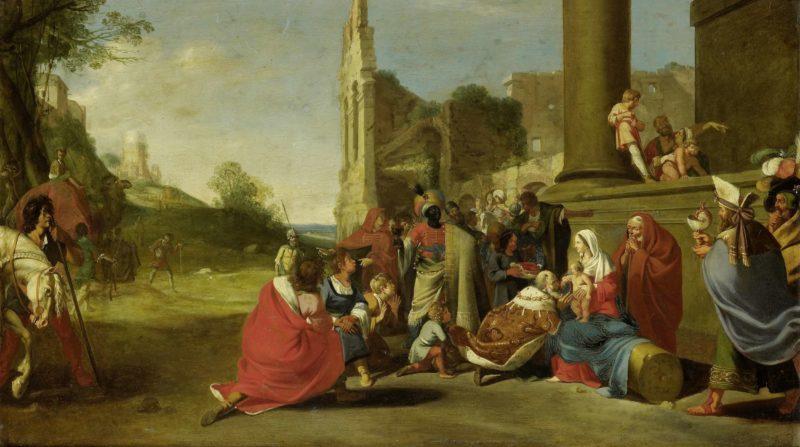 The Adoration of the Magi. ca. 1640 - ca. 1650 | Bartholomeus Breenbergh | oil painting