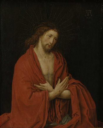 Christ with crown of thorns. ca. 1557 - ca. 1600 | Lucas van Leyden | oil painting