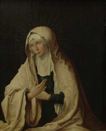The Virgin Mary. ca. 1557 - ca. 1600 | Lucas van Leyden | oil painting