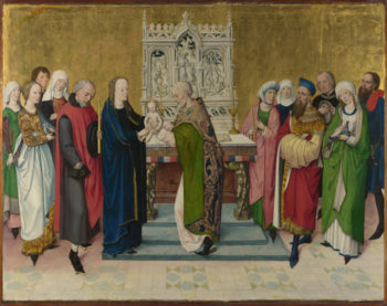 The Presentation in the Temple | Master of the Life of the Virgin | oil painting