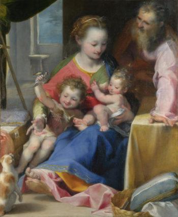 The Madonna of the Cat (La Madonna del Gatto) | Federico Barocci | oil painting