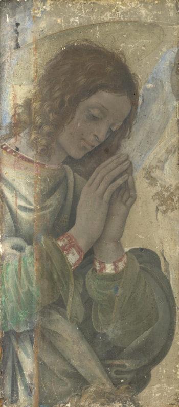 An Angel Adoring | Filippino Lippi | oil painting