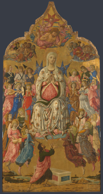The Assumption of the Virgin   Matteo di Giovanni   oil painting
