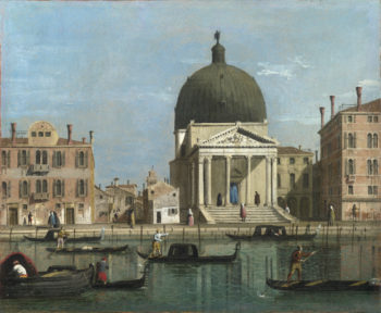 S. Simeone Piccolo | Follower of Canaletto | oil painting