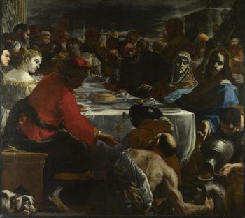 The Marriage at Cana   Mattia Preti   oil painting