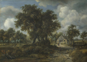 A Woody Landscape | Meindert Hobbema | oil painting