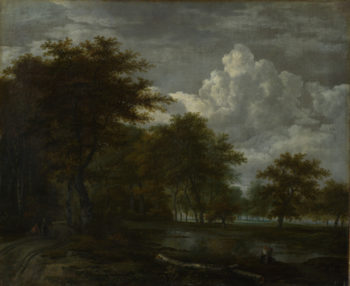 The Skirts of a Forest | Follower of Jacob van Ruisdael | oil painting