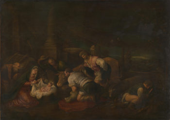 The Adoration of the Shepherds | Follower of Jacopo Bassano | oil painting