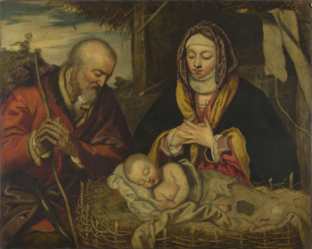 The Nativity | Follower of Jacopo Tintoretto | oil painting