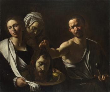 Salome receives the Head of Saint John the Baptist   Michelangelo Merisi da Caravaggio   oil painting