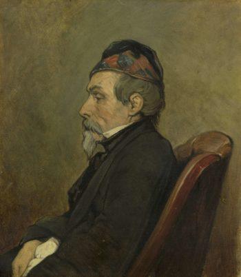 Johan Hendrik Louis Meijer (1809-66). Marine painter. 1850 - 1866 | Jan Weissenbruch | oil painting