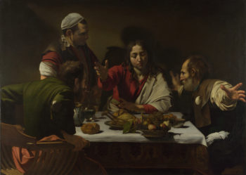 The Supper at Emmaus | Michelangelo Merisi da Caravaggio | oil painting