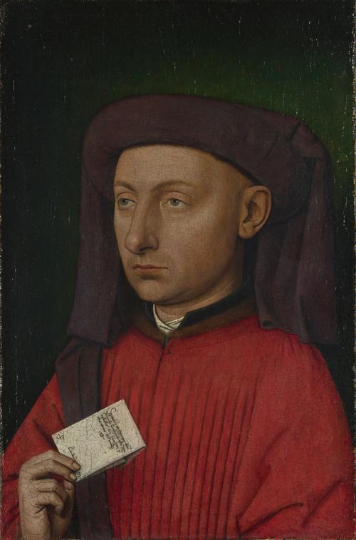 Marco Barbarigo   Follower of Jan van Eyck   oil painting