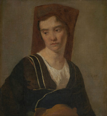 A Peasant Woman | Follower of Jean-Baptiste-Camille Corot | oil painting
