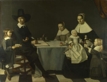 A Family Group | Michiel Nouts | oil painting