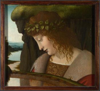Narcissus | Follower of Leonardo da Vinci | oil painting