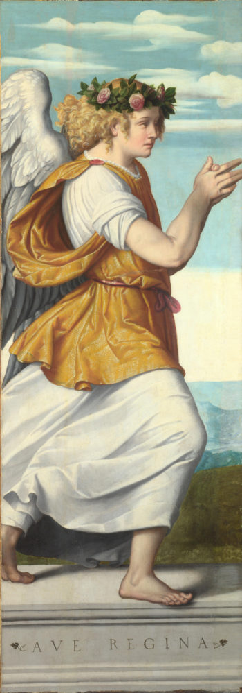 An Adoring Angel (1) | Moretto da Brescia | oil painting