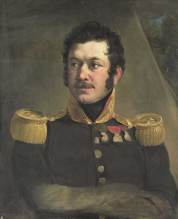 Frederik Knotzer (1782-1853). Lieutenant General. ca. 1832 | Jan Willem Pieneman | oil painting