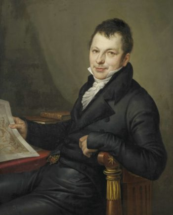 Johannes Hermanus Molkenboer (1773-1834). Art collector. 1815 | Mattheus Ignatius van Bree | oil painting
