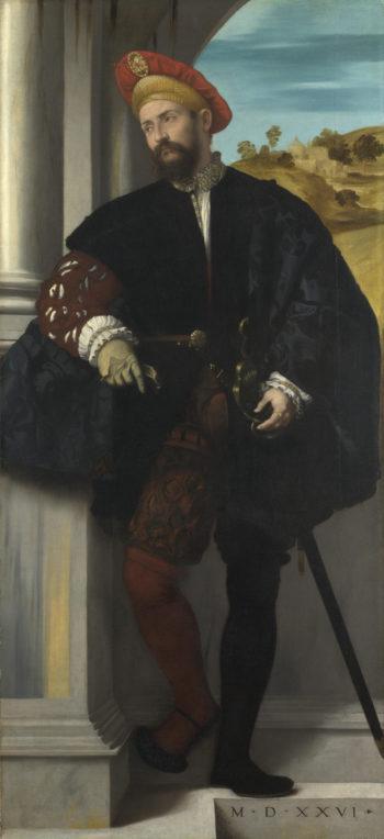 Portrait of a Man   Moretto da Brescia   oil painting