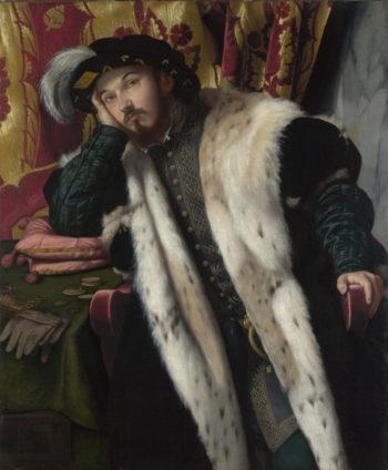 Portrait of a Young Man | Moretto da Brescia | oil painting
